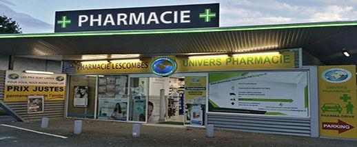 Pharmacie Lescombes Eysines, Eysines