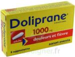 DOLIPRANE ADULTES 1000 mg, suppositoire à Eysines