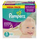 PAMPERS ACTIVE FIT T5 MEGA PACK 68 à Eysines