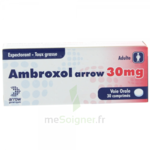 AMBROXOL ARROW 30 mg, comprimé à Eysines