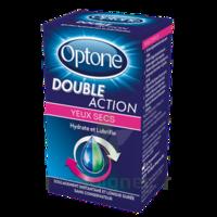 Optone Double Action Solution Oculaire Yeux Secs Fl/10ml à Eysines