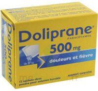 Doliprane 500 Mg Poudre Pour Solution Buvable En Sachet-dose B/12 à Eysines