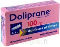 DOLIPRANE 100 mg Suppositoires sécables 2Plq/5 (10) à Eysines