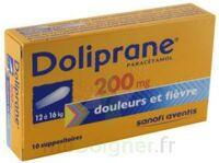 Doliprane 200 Mg Suppositoires 2plq/5 (10) à Eysines