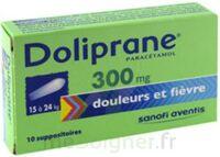 Doliprane 300 Mg Suppositoires 2plq/5 (10) à Eysines