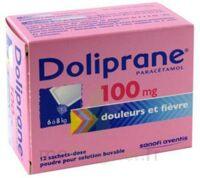 DOLIPRANE 100 mg Poudre pour solution buvable en sachet-dose B/12 à Eysines