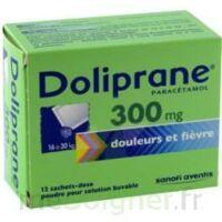Doliprane 300 Mg Poudre Pour Solution Buvable En Sachet-dose B/12 à Eysines