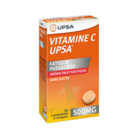 VITAMINE C UPSA 500 mg fruit exotique, comprimé à croquer à Eysines
