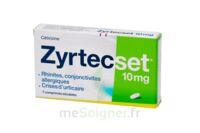 ZYRTECSET 10 mg, comprimé pelliculé sécable à Eysines