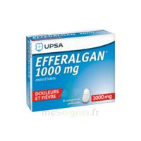Efferalgan 1000 Mg Comprimés Pelliculés Plq/8 à Eysines