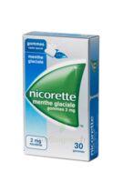 NICORETTE 2 mg Gom à mâcher médic sans sucre menthe glaciale Plq/30gom à Eysines
