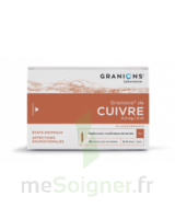 GRANIONS DE CUIVRE 0,3 mg/2 ml S buv 30Amp/2ml à Eysines