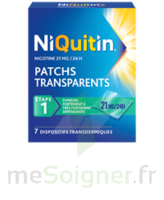 Niquitin 21 Mg/24 Heures, Dispositif Transdermique Sach/7 à Eysines