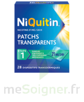 Niquitin 21 Mg/24 Heures, Dispositif Transdermique Sach/28 à Eysines