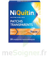 NIQUITIN 14 mg/24 heures, dispositif transdermique Sach/28 à Eysines