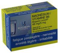 MAGNESIUM/VITAMINE B6 BIOGARAN CONSEIL 48 mg/5 mg, comprimé pelliculé à Eysines
