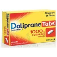 DOLIPRANETABS 1000 mg Comprimés pelliculés Plq/8 à Eysines
