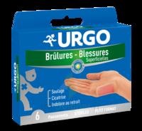 URGO BRULURES-BLESSURES PETIT FORMAT x 6 à Eysines