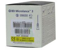 BD MICROLANCE 3, G30 1/2, 0,30 mm x 13 mm, jaune  à Eysines