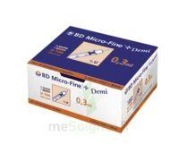 BD MICRO - FINE +, 0,30 mm x 8 mm, bt 100 à Eysines