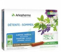 Arkofluide Bio Ultraextract Solution Buvable Détente Sommeil 20 Ampoules/10ml à Eysines