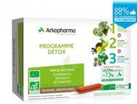 Arkofluide Bio Ultraextract Coffret Programme Détox 3x10 Ampoules/10ml à Eysines