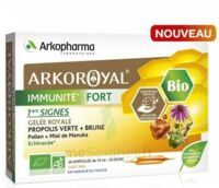 Arkoroyal Immunité Fort Solution Buvable 20 Ampoules/10ml à Eysines
