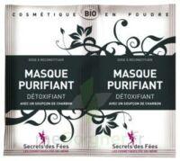 Secrets des Fées Masque purifiant charbon 2Sachets/6g à Eysines