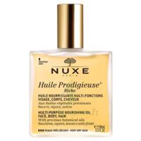 Huile prodigieuse® riche - huile nourrissante multi-fonctions visage, corps, cheveux100ml à Eysines