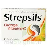 STREPSILS ORANGE VITAMINE C, pastille à Eysines