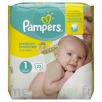 PAMPERS NEW BABY PREMIUM PROTECTION, taille 1, 2 kg à 5 kg, sac 22 à Eysines