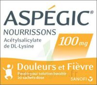 ASPEGIC NOURRISSONS 100 mg, poudre pour solution buvable en sachet-dose à Eysines