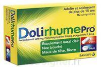 DOLIRHUMEPRO PARACETAMOL, PSEUDOEPHEDRINE ET DOXYLAMINE, comprimé à Eysines