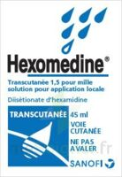 HEXOMEDINE TRANSCUTANEE 1,5 POUR MILLE, solution pour application locale à Eysines