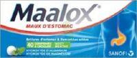 Maalox Hydroxyde D'aluminium/hydroxyde De Magnesium 400 Mg/400 Mg Cpr à Croquer Maux D'estomac Plq/40 à Eysines