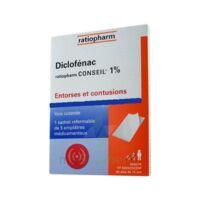Diclofenac Ratiopharm Conseil 1 %, Emplâtre Médicamenteux à Eysines