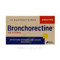 BRONCHORECTINE AU CITRAL ADULTES, suppositoire à Eysines
