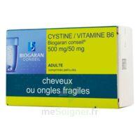 CYSTINE/VITAMINE B6 BIOGARAN CONSEIL 500 mg/50 mg Cpr pell Plq/120 à Eysines