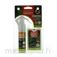 Insect Protect Spray Peau + Spray VÊtements Fl/18ml+fl/50ml à Eysines
