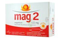 MAG 2 122 mg S buv en ampoule sans sucre édulcoré à la saccharine sodique 30Amp/10ml à Eysines