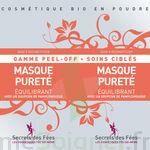 Secrets Des Fées Masque Pureté Equilibrant Peel-off