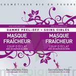 Secrets des Fées Masque Fraicheur Coup d'Eclat Peel-Off à Eysines