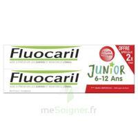 Fluocaril Junior Gel dentifrice Fruits rouges 6/12ans 2*75ml à Eysines