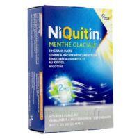Niquitin 2 Mg Gom à Mâcher Médic Menthe Glaciale Sans Sucre Plq Pvc/pvdc/alu/30 à Eysines