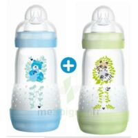 MAM BIBERON EASY START anti-colique 260 ml lot de 2_ BLEU & VERT à Eysines