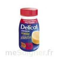 DELICAL BOISSON HP HC CONCENTREE Nutriment vanille 4Bouteilles/200ml à Eysines