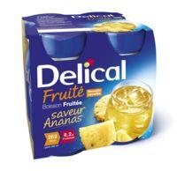 DELICAL BOISSON FRUITEE Nutriment ananas 4Bouteilles/200ml à Eysines