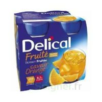 DELICAL BOISSON FRUITEE Nutriment orange 4Bouteilles/200ml à Eysines