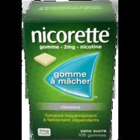 Nicorette 2 Mg Gom à Mâcher Médic Sans Sucre Menthe Fraîche Plq/105gom à Eysines