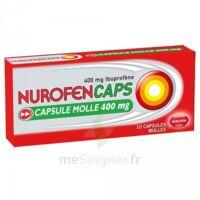 Nurofencaps 400 Mg Caps Molle Plq/10 à Eysines